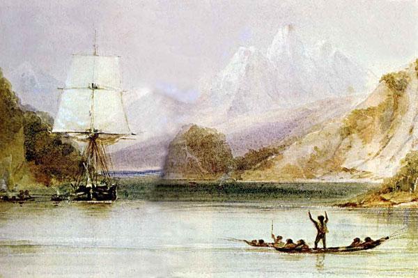 Путешествие на корабле «Бигль»