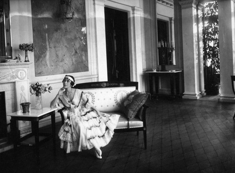 Матильда Кшесинская в своём особняке.