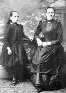 Любовь Федоровна Павлова вместе с дочерью Анной