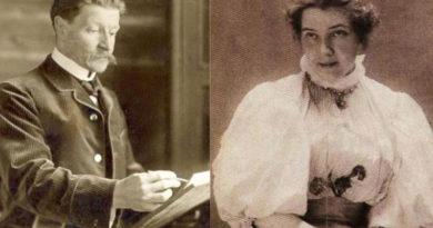 Михаил Врубель и его жена Надежда Забела