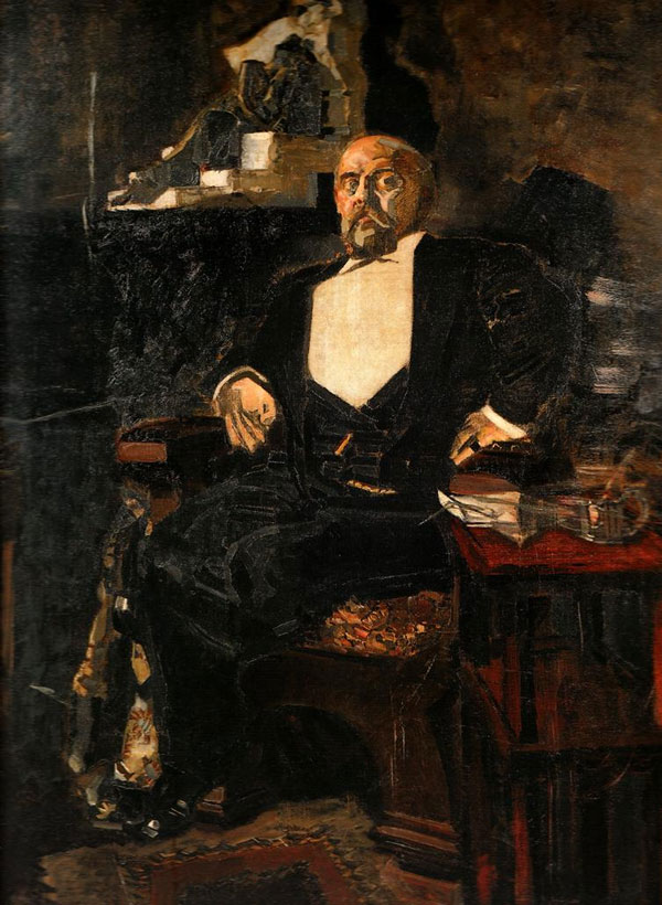 За заботы Врубель отплатил Савве Ивановичу неоднозначным портретом