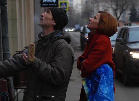 На фото: Наталья Тарнавская и Станислав Чижиковский изучают будущий объект