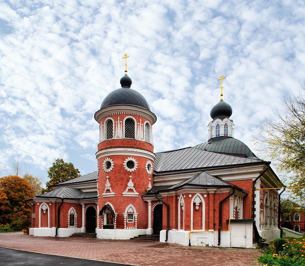 Николо-Успенская церковь мужского двора
