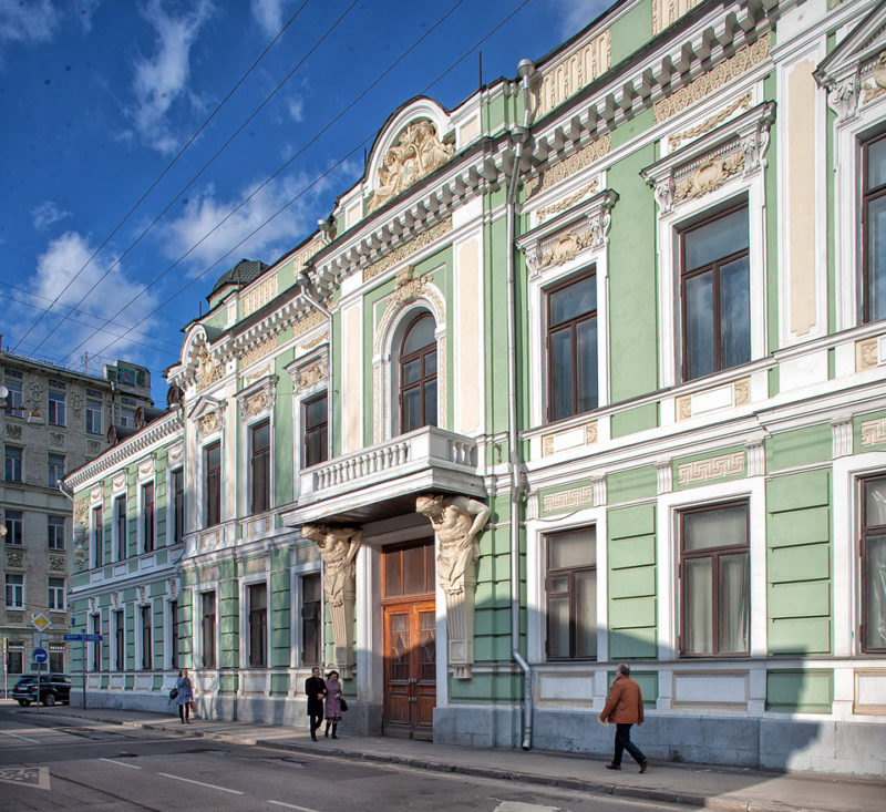 Особняк А.В.Морозова в Подсосенском переулке, Москва