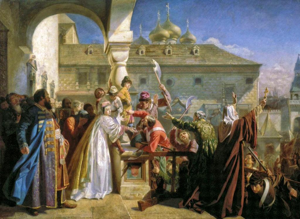 Мятеж стрельцов в 1682 году