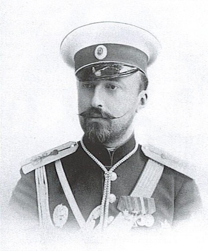 Николай Михайлович в молодости