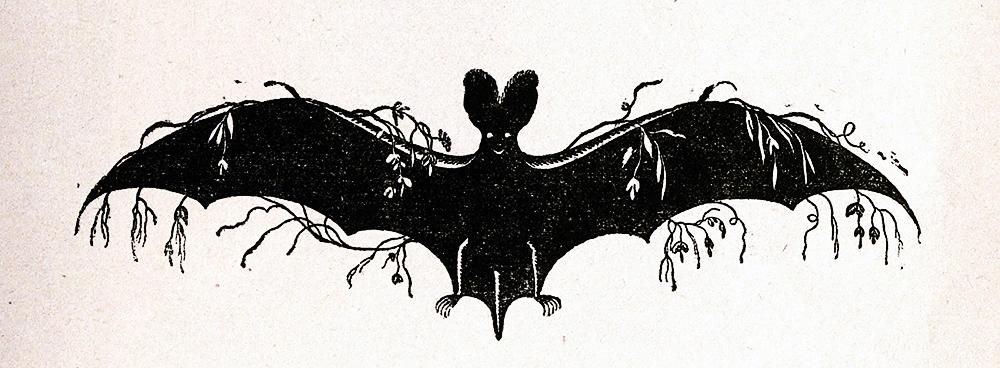Эмблема театра-кабаре «Летучая мышь»