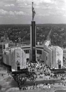 Павильон СССР на Всемирной выставке в Нью-Йорке 1939 г.