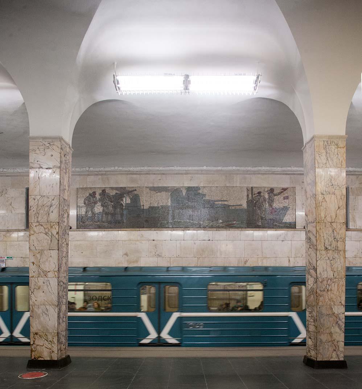 Станция метро «Автозаводская». Фото Ю.Звездкина