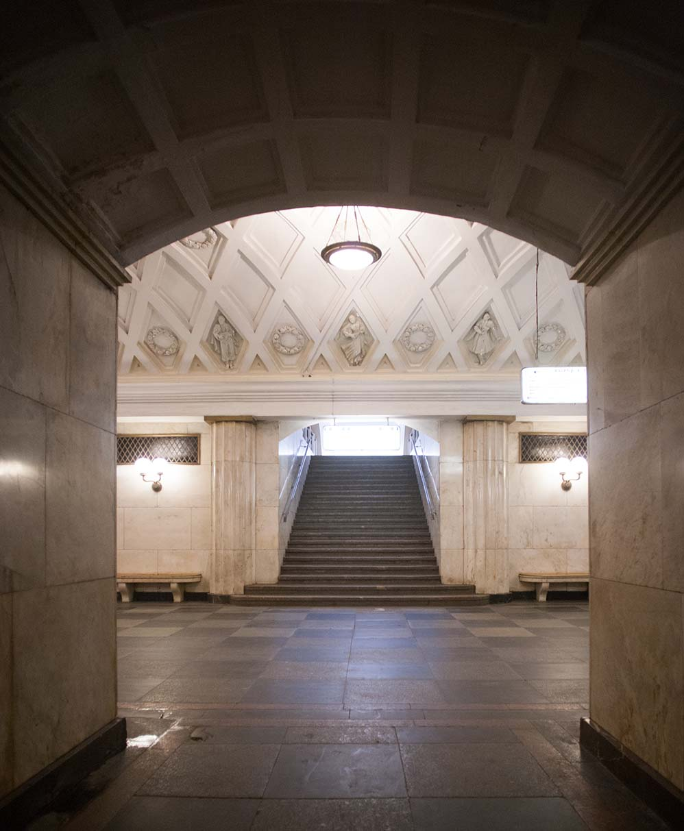 экскурсии по Москве, метро