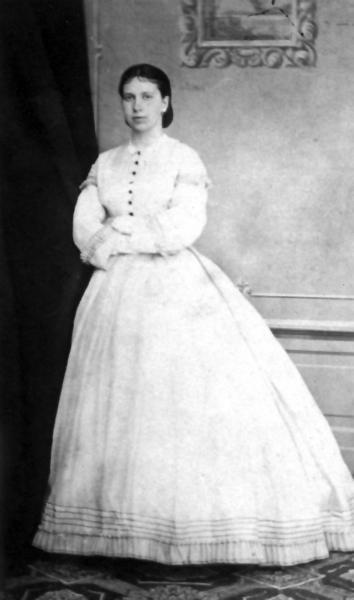 Графиня Софья Толстая вскоре после свадьбы