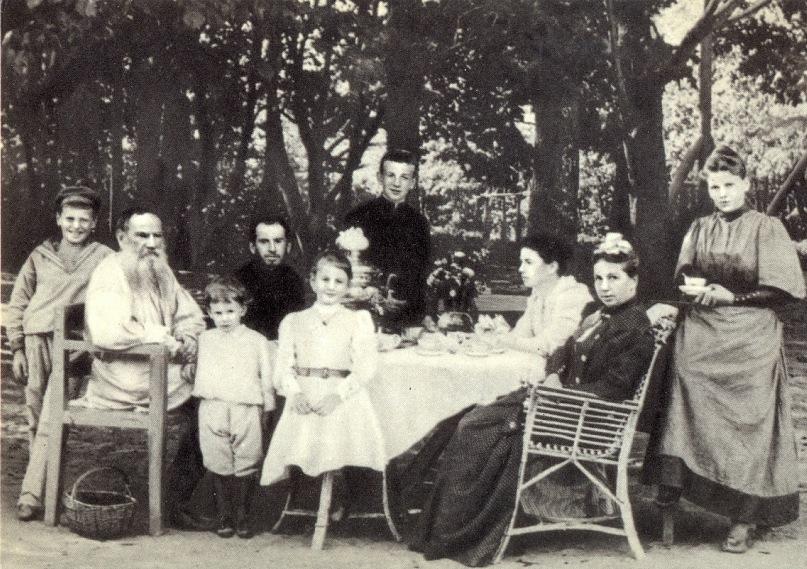В Ясной поляне с семьей