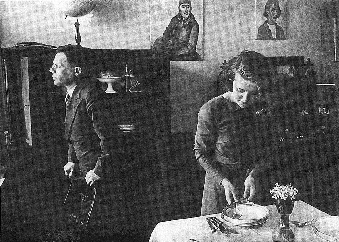 Илья Ильф с женой