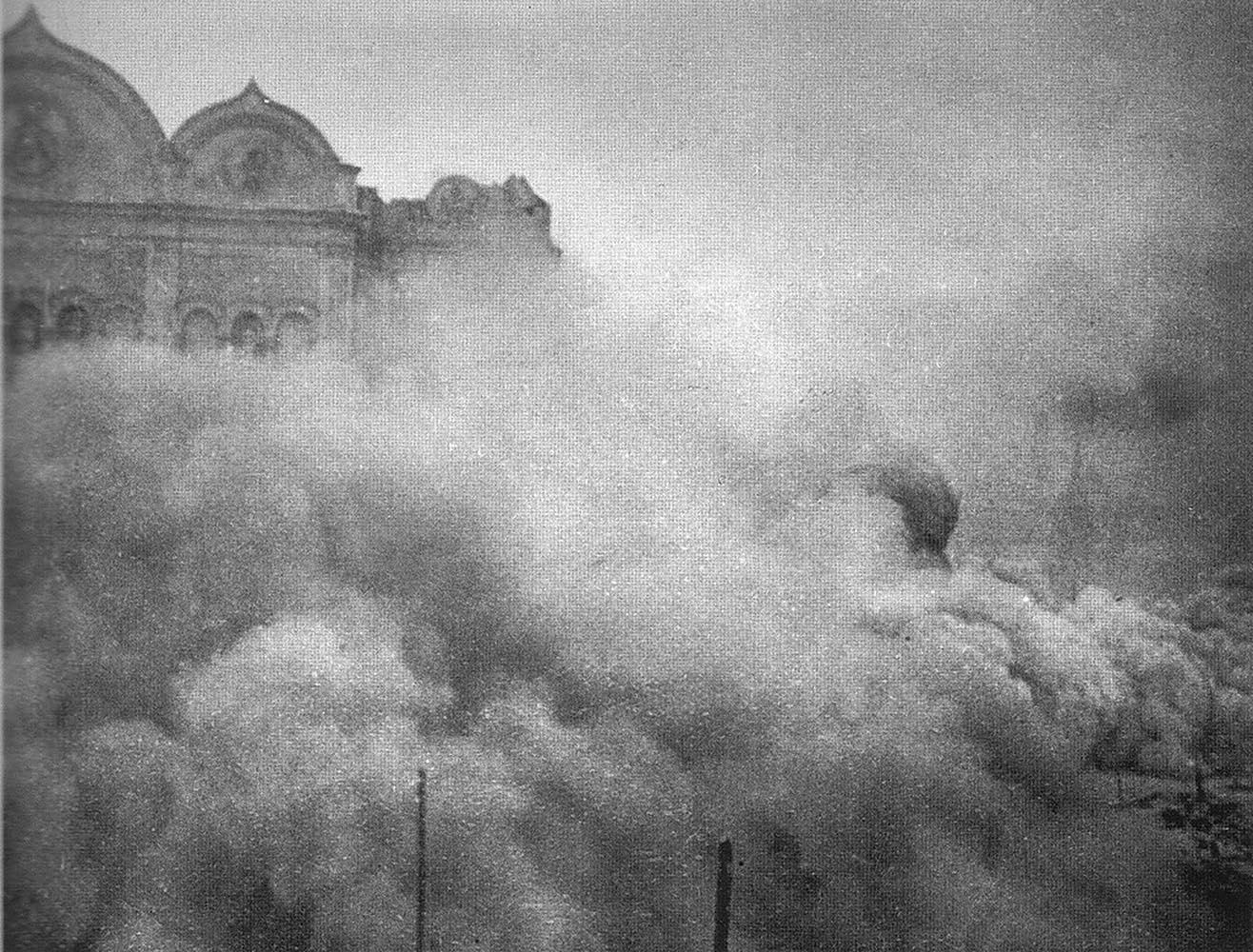 Взорванный Храм Христа Спасителя