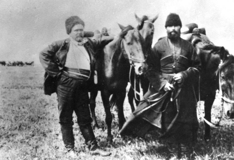 Гиляровский на Кавказе