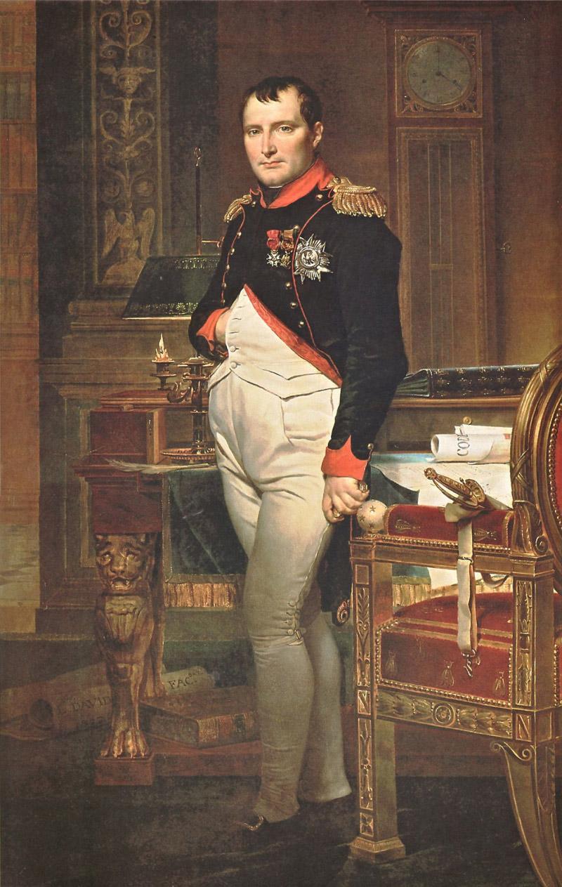 Давид. Портрет Наполеона