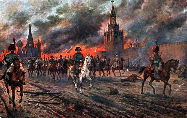 Прогулка по Москве для французской армии стала слишком дорогим удовольствием