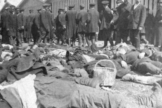 Трагедия на Ходынском поле. Убитые.