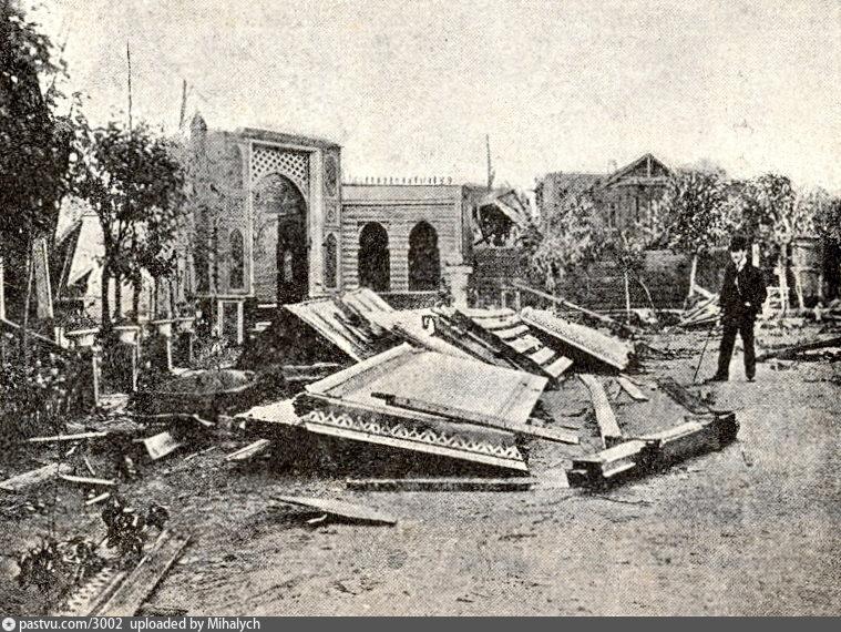 Ураган 1904 г в Москве