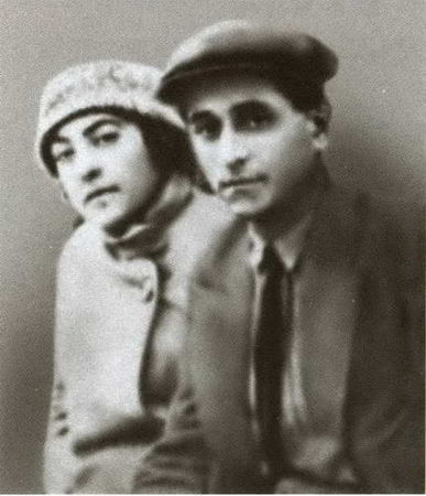 фото Михаила Зощенко и Мариэтты Шагинян