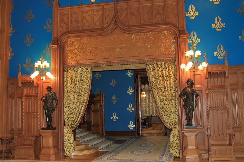Интерьер особнякя Морозовой, арх. Шехтель