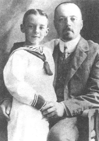 Набоков с отцом