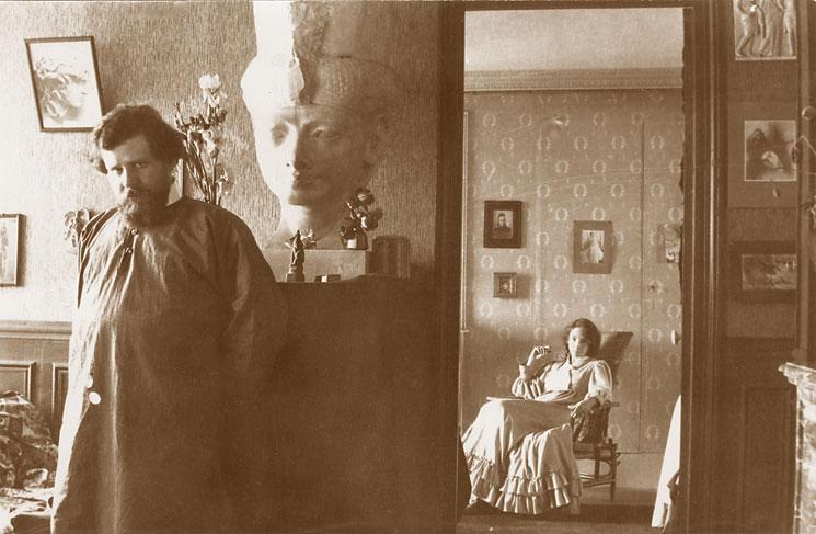 Волошин с женой Маргаритой