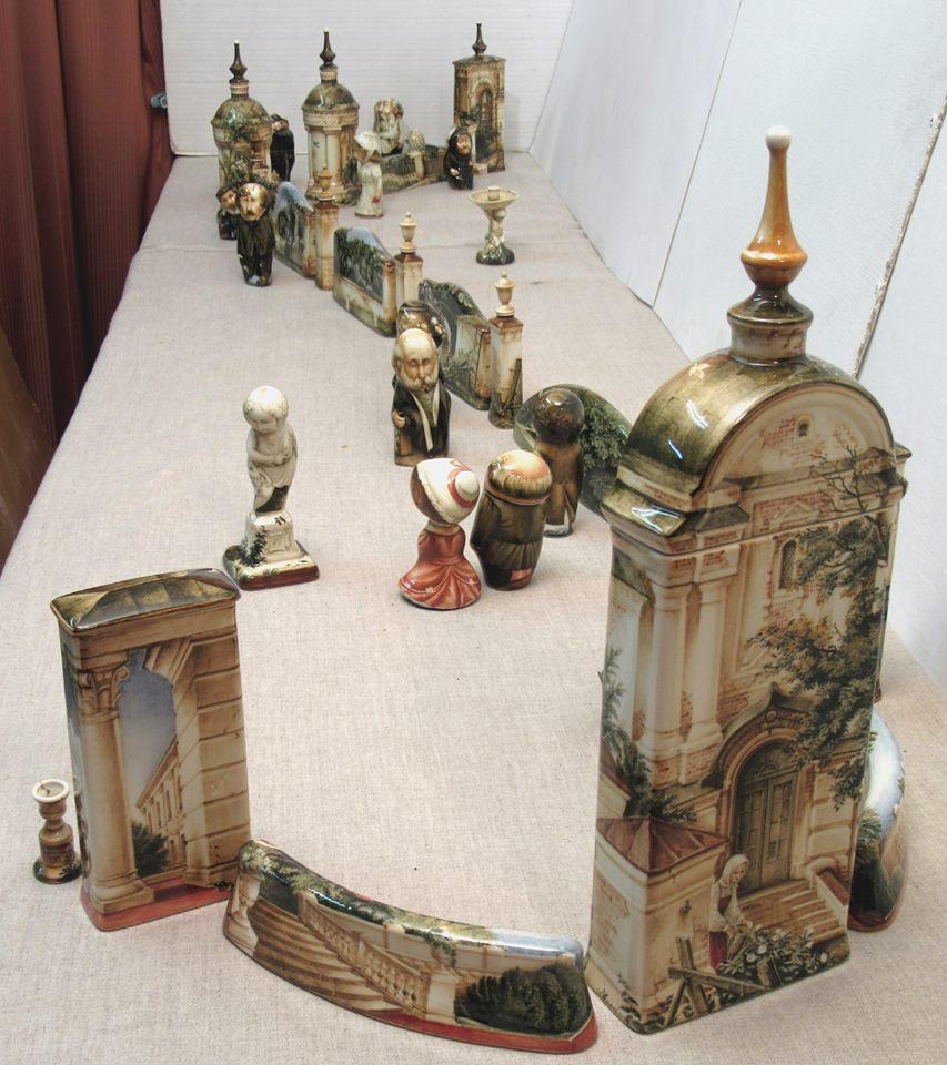 витрина выставки Андрея Черкасова