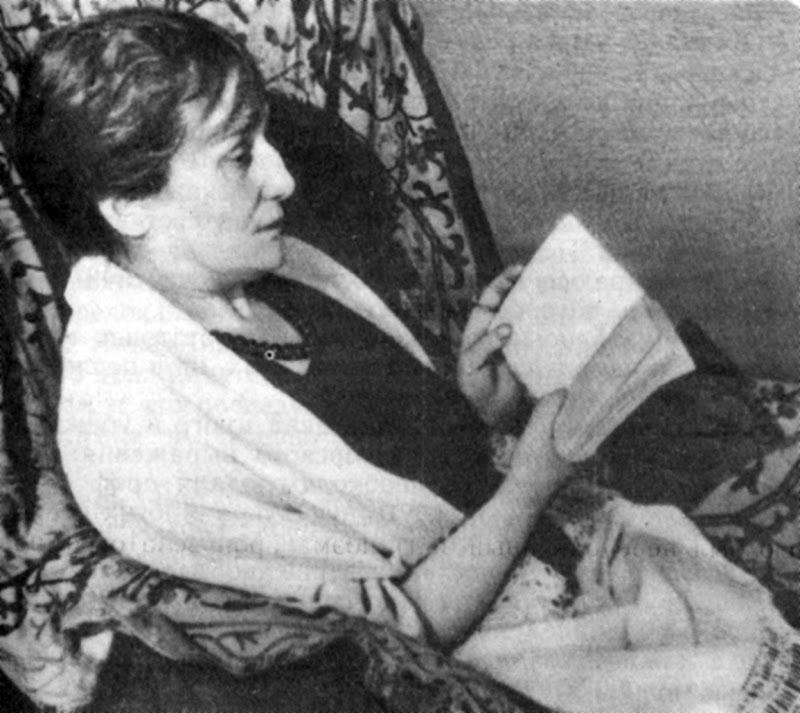 Анна Ахматова читает