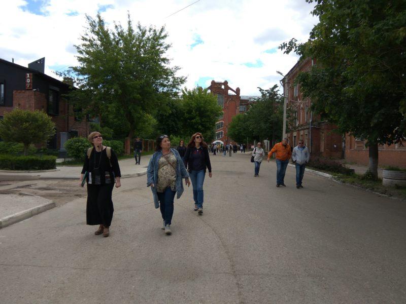 Тверь, Морозовский городок, экскурсовод Ирина Стрельникова