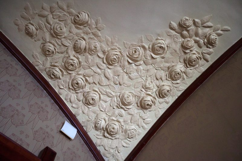 Шехтель, потолок, деталь