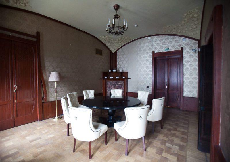 Особняк Смирнова: парусный потолок кабинета