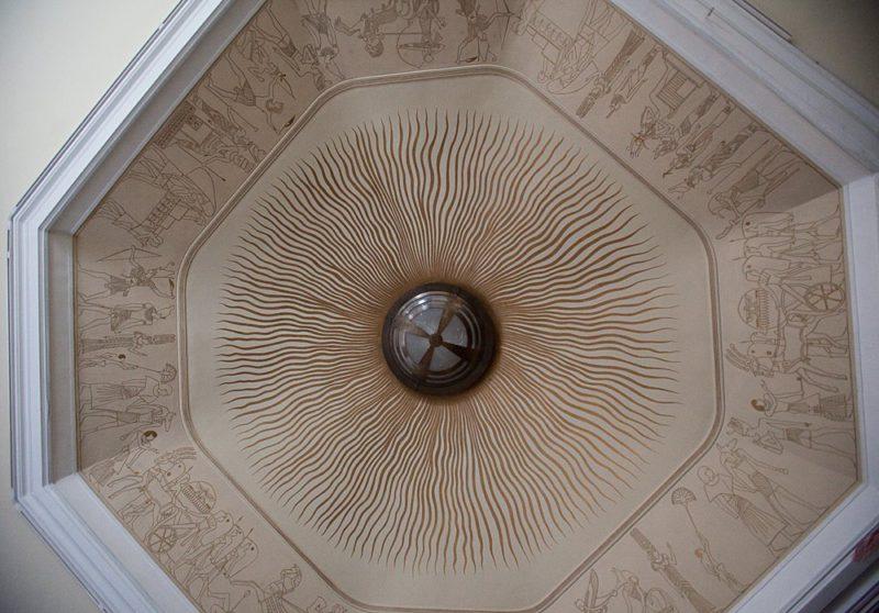 потолок Египетского зала