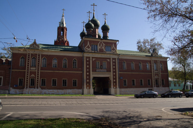 Надвратная часовня Мужского двора, Преображенка