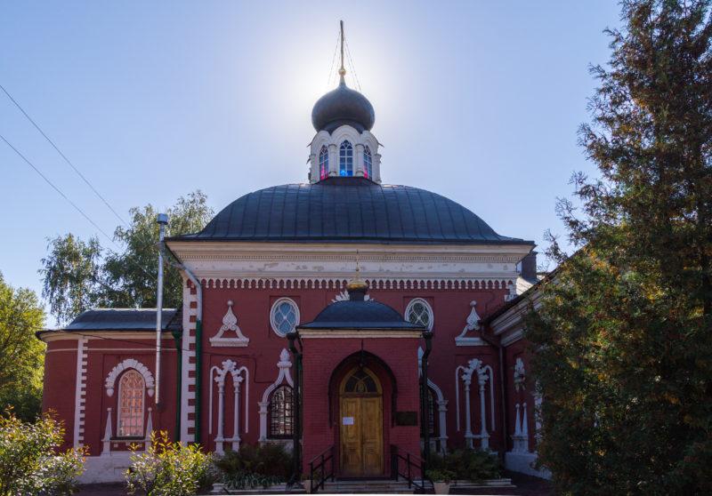 Николо-Успенский храм Мужского двора