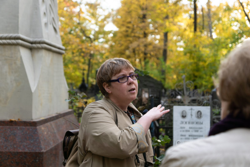 экскурсовод Ирина Стрельникова Преображенское староверческое кладбище