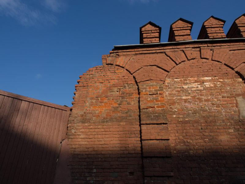 остатки ограды Мужского двора