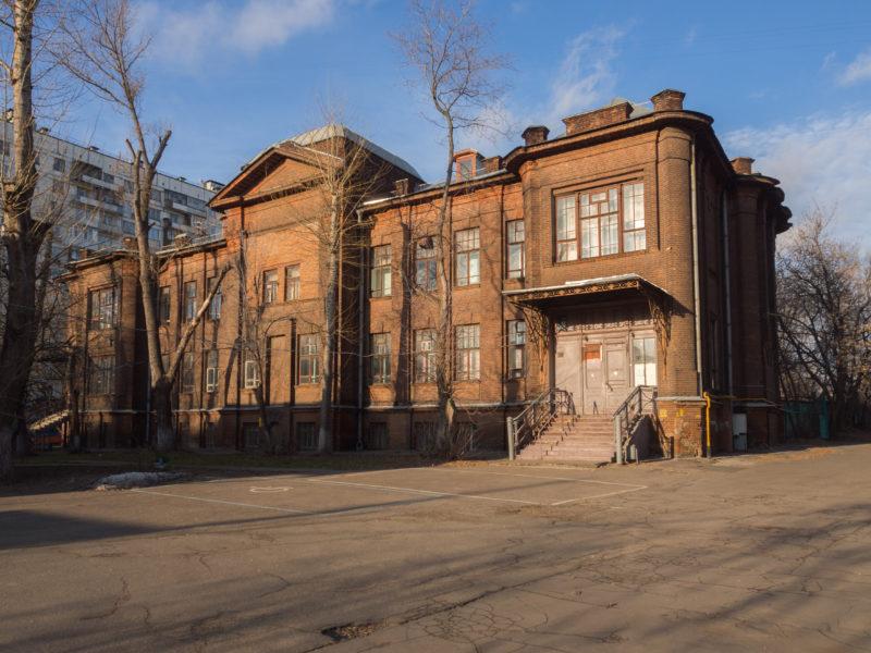 Больница на Преображенском валу, архитектор Кекушев