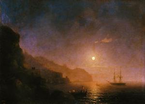 И.Айвазовский «Ночь в Амальфи»