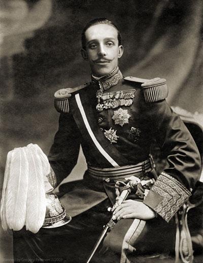 Король испанский Альфонс XIII