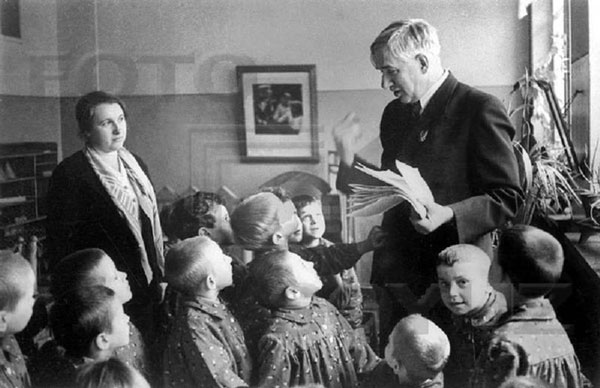 Чуковский и сироты