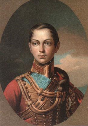 Друг детства – наследник Александр, будущий Александр II