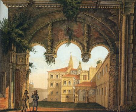 Реконструкция Львиных ворот в Кремле