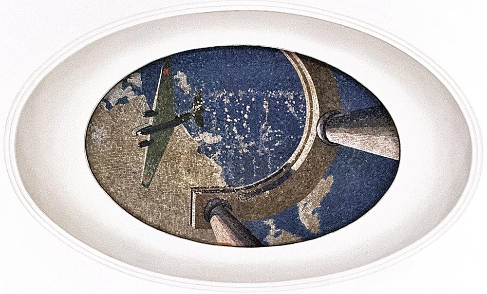 Бомбардировщик ТБ-4 (мозаика немного повреждена). Фото Ю.Звездкина