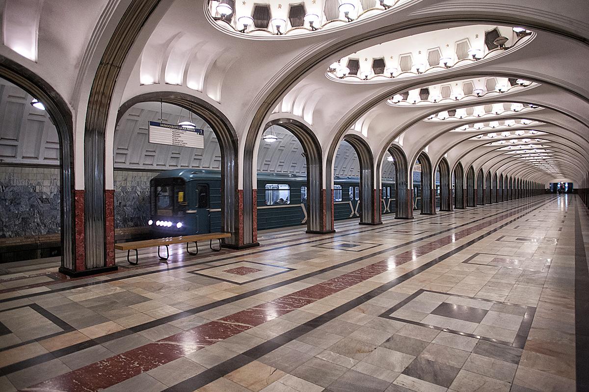 Станция метро «Маяковская». Фото Ю.Звездкина