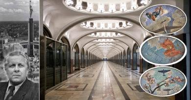 Маяковская: советская готика и 34 сюрприза