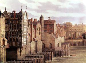 Вид Лондона в XVIII веке