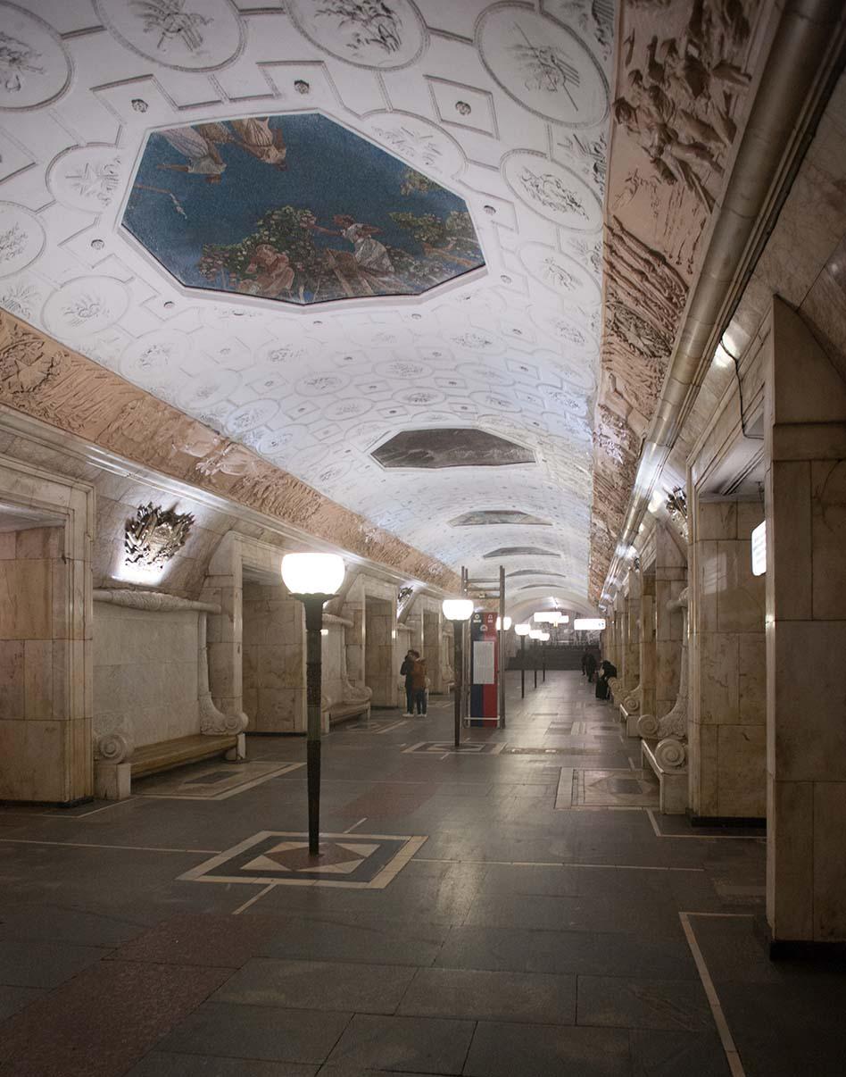 Станция метро «Новокузнецкая». Фото Ю.Звездкина