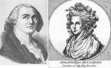 Граф и графиня Калиостро