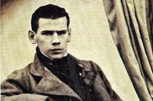 Студент Лев Толстой, 1849 г.